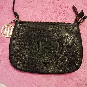 Tommy Hilfiger cross body leather purse